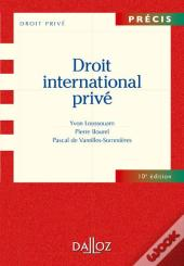 Droit International Prive - 10e Edition