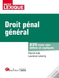 Wook.pt - Droit Penal General 2eme Edition
