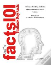 E-Study Guide For: Effective Teaching Methods: Research-Based Practice By Gary D. Borich, Isbn 9780131367180
