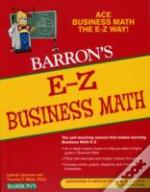 E-Z Business Math4th Edition
