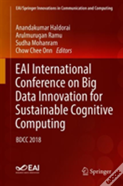 Wook.pt - Eai International Conference On Big Data Innovation For Sustainable Cognitive Computing
