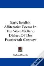 Early English Alliterative Poems In The
