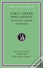 Early Greek Philosophy, Volume Ii