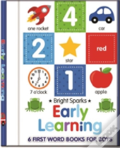 Early Learning - 6 First Word Books For Boys