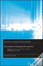 Early Modern Philosophy Reconsidered