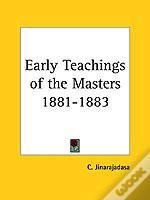 Early Teachings Of The Masters 1881-1883