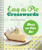 Easy As Pie Crosswords Easy As Can Be