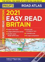 Easy To Read Britain Road Atlas A4 2021