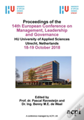 Ecmlg 2018 - Proceedings Of The 14th European Conference On Management Leadership And Governance