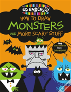 Wook.pt - Ed Emberleys How To Draw Monsters & More