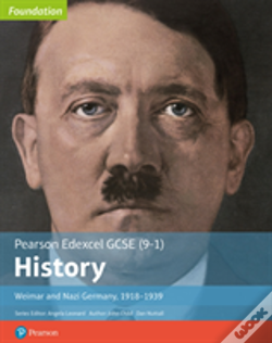 Wook.pt - Edexcel Gcse (9-1) History Foundation Weimar And Nazi Germany, 1918-39 Student Book