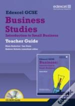 Edexcel Gcse Business: Introduction To Small Business Teacher Guide