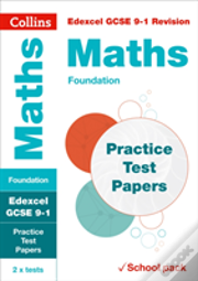 Edexcel Gcse Maths Foundation Practice Test Papers