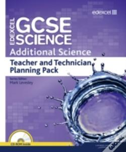 Wook.pt - Edexcel Gcse Science: Additional Science Teacher And Technician Planning Pack