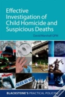 Wook.pt - Effective Investigation Of Child Homicide And Suspicious Deaths
