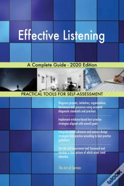 Wook.pt - Effective Listening A Complete Guide - 2020 Edition