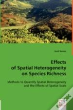 Effects Of Spatial Heterogeneity On Species Richness