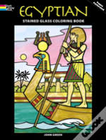 Egyptian Stained Glass Colouring Book