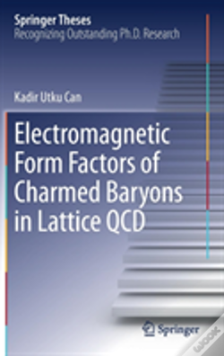 Wook.pt - Electromagnetic Form Factors Of Charmed Baryons In Lattice Qcd