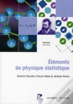 Elements De Physique Statistique