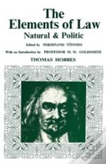 Elements Of Law, Natural And Politic