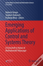 Emerging Applications Of Control And Systems Theory