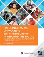 Emerging Lessons On Women'S Entrepreneurship In Asia And The Pacific