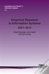 Empirical Research In Information Systems