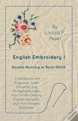 Wook.pt - English Embroidery - I -  Double-Running Or Back-Stitch
