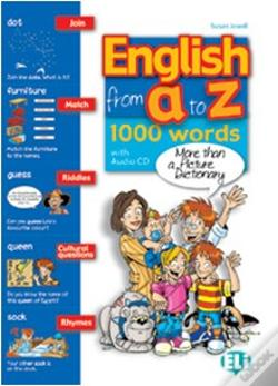 Wook.pt - English From A to Z Book + Audio CD