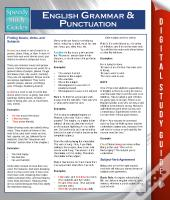 English Grammar And Punctuation (Speedy Study Guides)