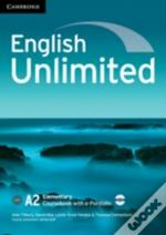 English Unlimited Elementary Coursebook With E-Portfolio Cd-Rom And Workbook Without Answers With Dvd-Rom Pack