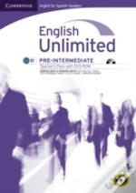 English Unlimited For Spanish Speakers Pre-Intermediate Teacher'S Pack (Teacher'S Book With Dvd-Rom)