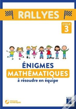 Wook.pt - Enigmes Maths Cycle 3 + Cd-Rom
