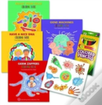 Enjoy Your Cells Coloring Books 4 Bk Se