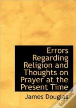 Errors Regarding Religion And Thoughts O