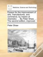 Essays For The Improvement Of Arts, Manu