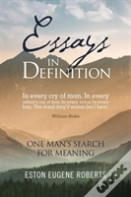 Essays In Definition