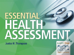 Essential Health Assessment