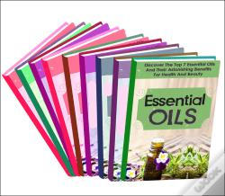 Wook.pt - Essential Oils:Box Set : Learn About These Top Essential Oils And Natural Remedies To Cure You Naturally Fast!