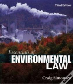 Wook.pt - Essentials Of Environmental Law