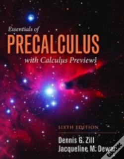 Wook.pt - Essentials Of Precalculus With Calculus Previews