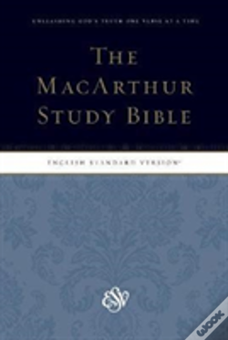 Wook.pt - Esv Macarthur Study Bible, Personal Size