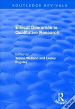 Wook.pt - Ethical Dilemmas In Qualitative Res