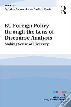 Wook.pt - Eu Foreign Policy Through The Lens Of Discourse Analysis