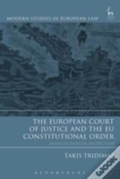 European Court Of Justice And The Eu Constitutional Order