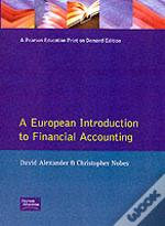 European Introduction To Financial Accounting
