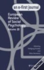 European Review Of Social Psychology Vol