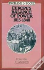 Europe'S Balance Of Power, 1815-48