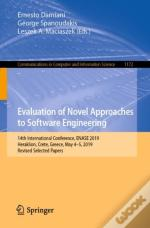 Evaluation Of Novel Approaches To Software Engineering